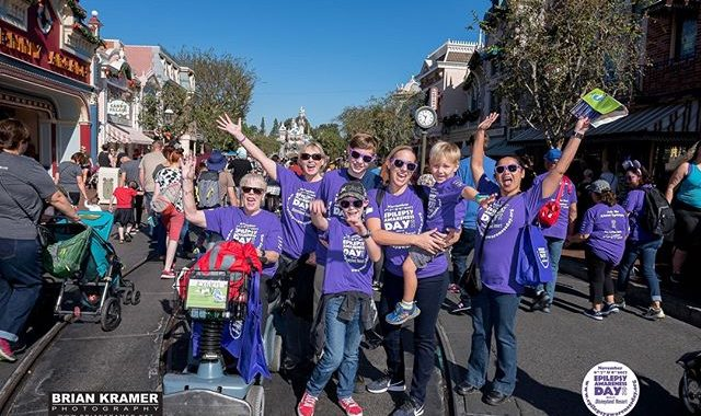 Epilepsy Awareness Day at Disneyland